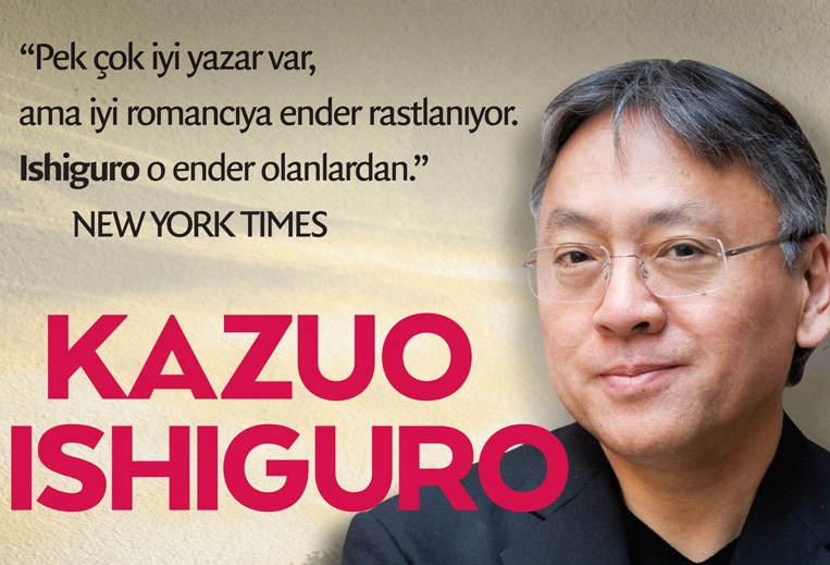 YKY'de Eylül Ayı Yazarı: Kazuo Ishiguro