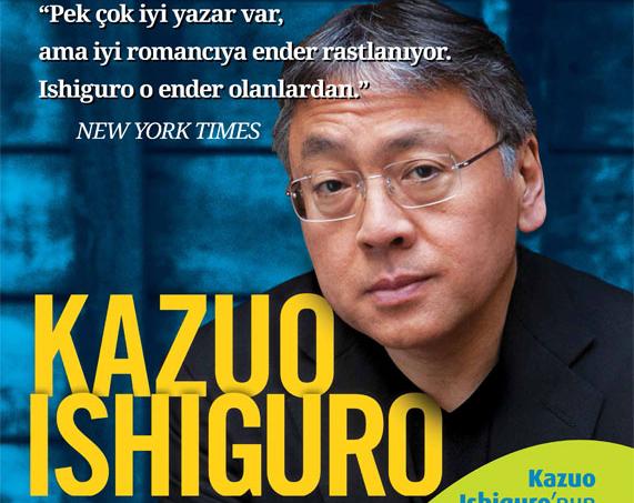 Ekim Ayı Yazarı: Kazuo Ishiguro