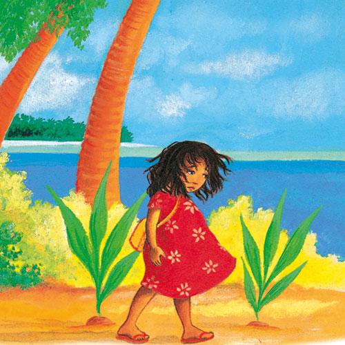 Vanilya Adası'nda Okulun İlk Günü