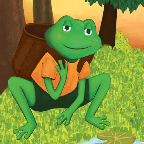 Neşeli Orman'ın Şair Kurbağası