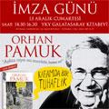 Beklenen romanıyla Orhan Pamuk YKY Galatasaray Kitabevinde...