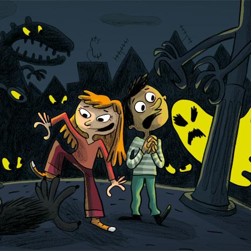 Cesur Çocuklara Korku Hikâyeleri – Kötü Canavarlara Dikkat!