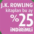 Aralık Ayı Yazarı: J.K. Rowling