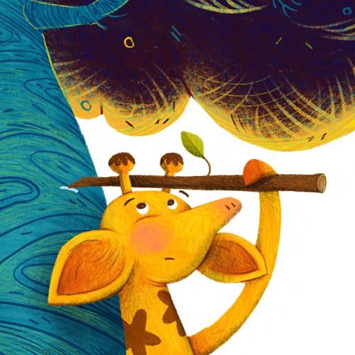 Kısa Boylu Zürafa