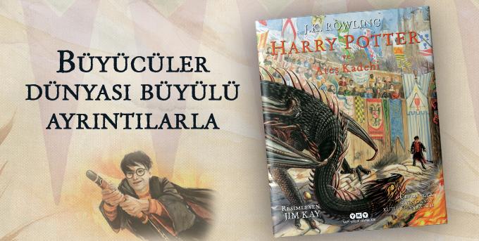 Harry Potter ve Ateş Kadehi – 4 (Resimli Özel Baskı)