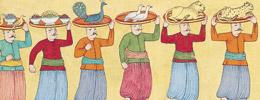 Kırk Gün Kırk Gece - Osmanlı Düğünleri, Şenlikleri, Geçit Alayları (Karton Kapak)