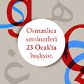 Yapı Kredi Kültür Sanat Yayıncılık'ta Osmanlıca seminerleri 23 Ocak'ta başlıyor...