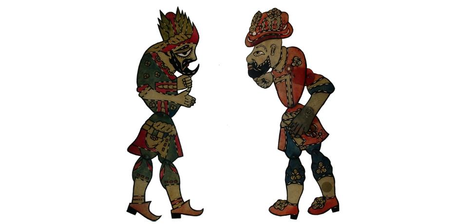 Shadow Puppets Karagöz-Hacivat Collection