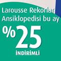 Nisan Ayı Kitabı: Larousse - Rekorlar Ansiklopedisi