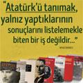 Kasım ayında Atatürk kitapları %25 indirimli