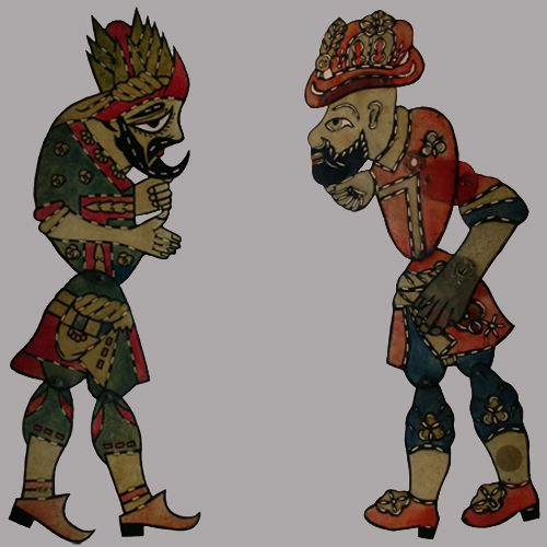 Shadow Puppets Karagöz-Hacivat Collection