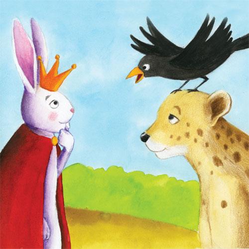 Bir gün Tavşan Kralken