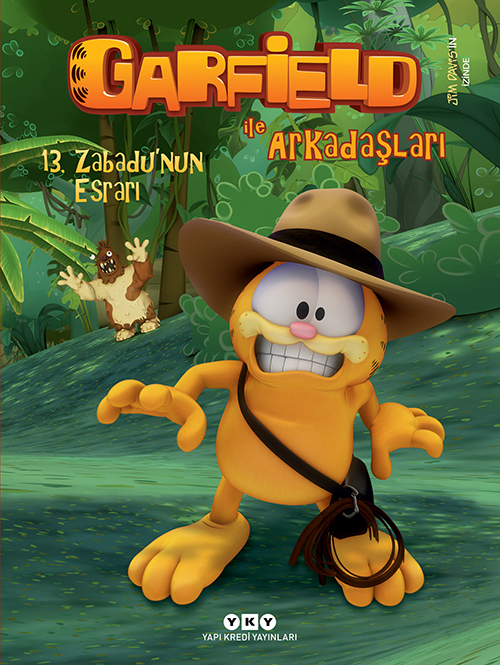 Garfield ile Arkadaşları 13 - Zabadu'nun Esrarı
