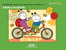 Uğurböceği Sevecen ile Salyangoz Tomurcuk 22 - Bisiklet (Çıkartmalı)