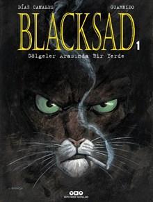 Blacksad 1. Cilt - Gölgeler Arasında Bir Yerde (Karton Kapak)