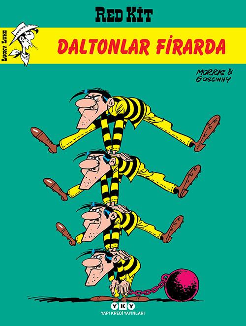 Daltonlar Firarda - Red Kit 3