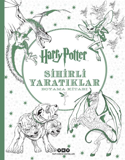 Harry Potter Sihirli Yaratiklar Boyama Kitabi Yapi Kredi Yayinlari