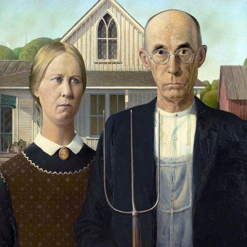 Amerikan Resmi 1850 - 1950