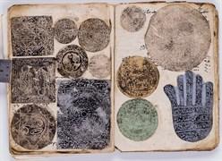 Mühür Albümü (55 sayfa şifa mühürleri), Kâğıt üzerine baskı
