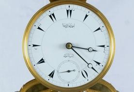 Ahmet Eflaki Dede yapımı saat, Dolmabahçe Saat Müzesi