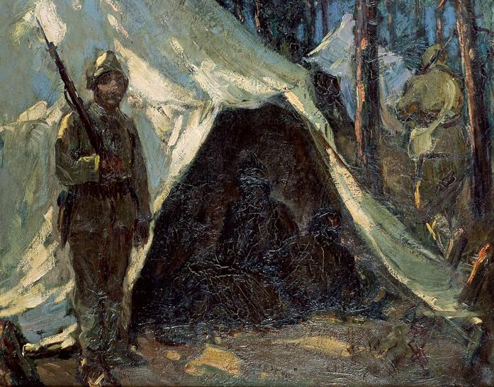 İbrahim Çallı (1882-1960), Tent