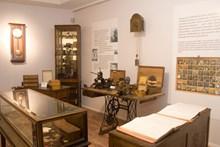 Sergide saatçi dükkanı olarak tasarlanan bölüm