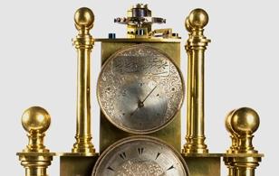 Mehmet Şükrü yapımı  Osmanlı saati, Mehdi Kamrus koleksiyonu