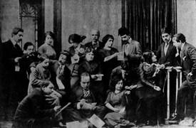 Burhanettin Tepsi Temsil Heyeti. (1920)
