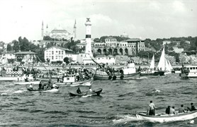 Yenikapı Deniz Feneri ve Ayasofya Camii