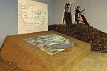 Boğazköy kazı ve yerleşim alanını gösterir interaktif harita uygulaması.