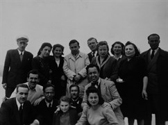 In Sarıyer… His first photograph with Huriye Korkut, May 1949.