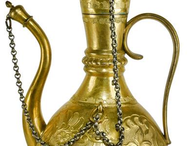Tombak Zemzem İbriği - Topkapı Sarayı Müzesi