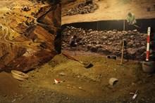 Kazı alanı modellemesini gösterir detay