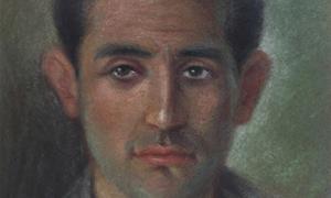 Nazım Hikmet'in annesi Celile Hanım'ın yaptığı Oktay Rifat tablosu.