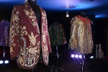 In stage costumes