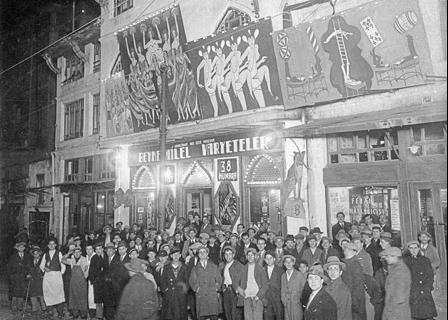 Şehzadebaşı Ferah Theater, January 1932. (Cengiz Kahraman Archive)