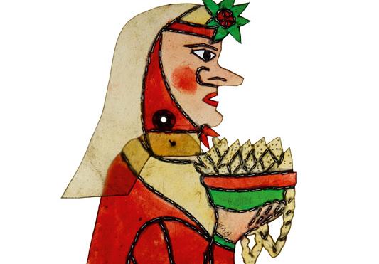 Bok Ana, Hayali Küçük Ali, 37 x 18 cm, Murat Huten Koleksiyonu