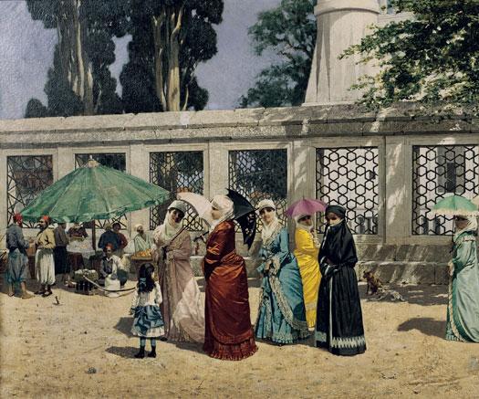 Osman Hamdi, Feraceli  Kadınlar, 1887, tuval üzerine yağlıboya