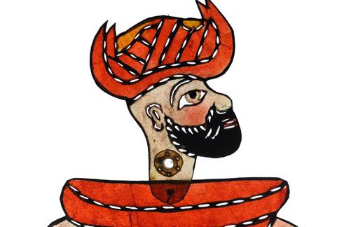 Saksıda Karagöz, Ragıp Tuğtekin, 28,8 x 15,6 cm, Yapı Kredi Müzesi 4-122