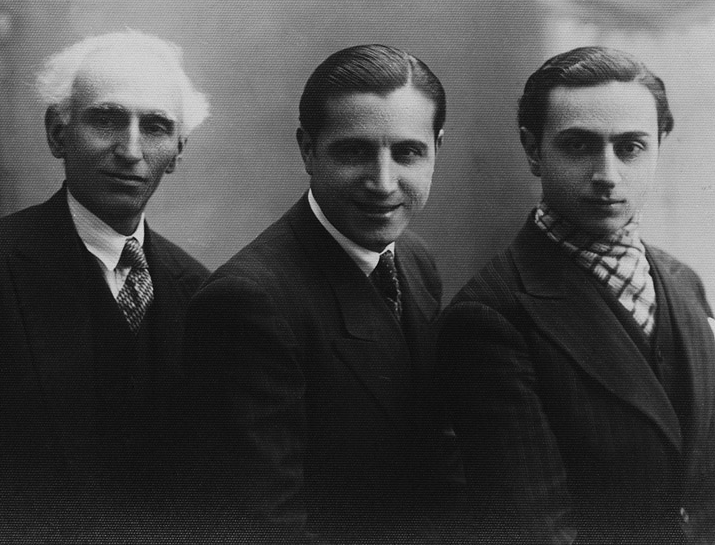 Aşod Madatyan, Torkom Sırabyan, Hagop Ayvaz (1934)