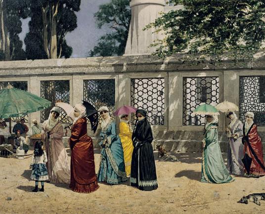 Osman Hamdi Bey (1842-1910), Women Wearing Fullcoats, 1887