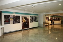 A photo from the exhibition site