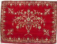 Embroidery and fabric collection