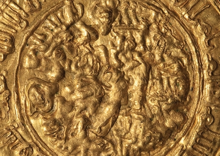 Tuğrul Bey period, Great Seljuk coin, minted at Med Selam, Gold