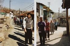 Ferhat Özgür Bugün Herkes Dışarı 2002, fotoğraf, diptik, her biri 180 x 130 cm