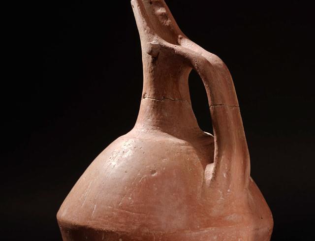 Gaga ağızlı testi. Orta-Geç Tunç Çağı, MÖ 2000-1150.