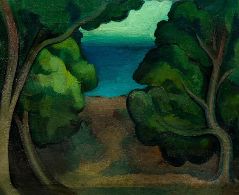 Mümtaz Yener, Ağaç(peyzaj), tarihi bilinmiyor
