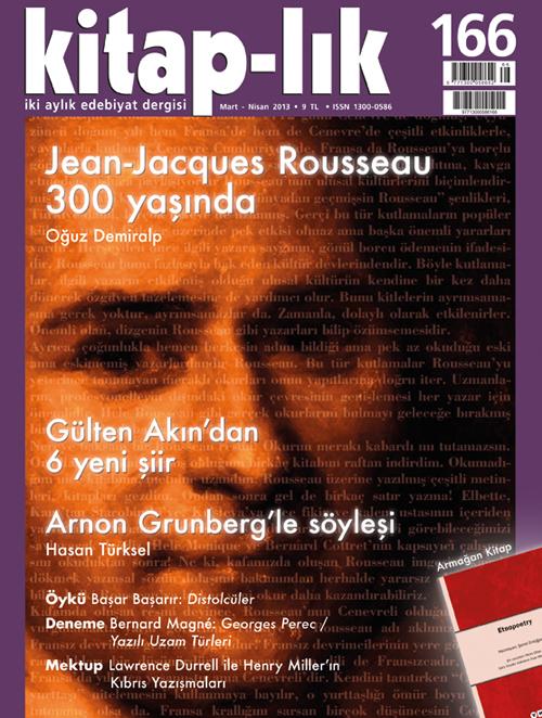 Oğuz Demiralp - Jean-Jacques Rousseau 300 yaşında