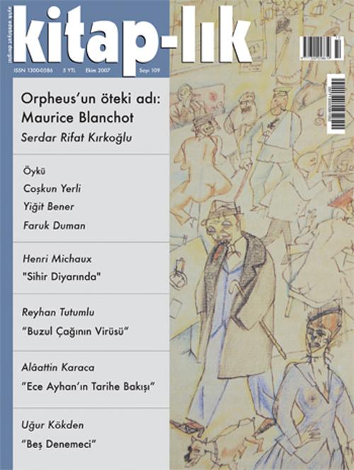 Orpheus'un Öteki Adı: Maurice Blanchot